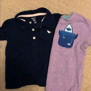 EUC size 12 months boys tops